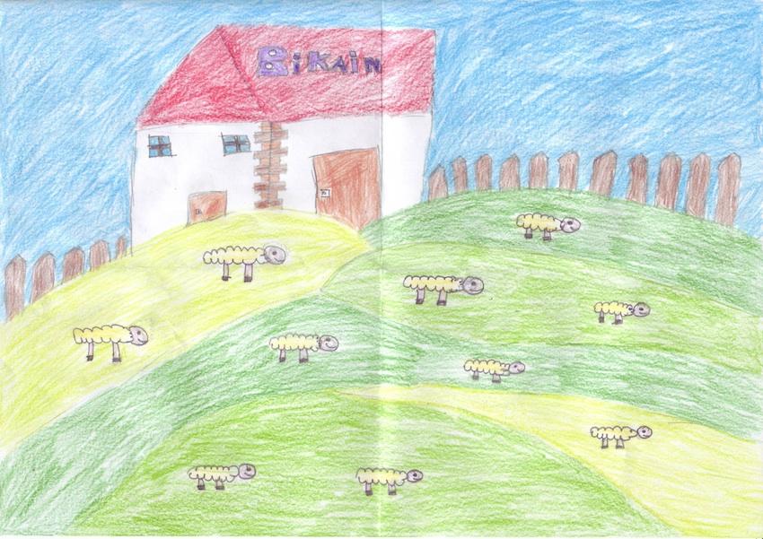 Los niños son los mejores embajadores de la visita a la Quesería BIKAIN
